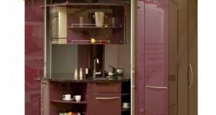 Fioletowa kuchnia obrotowa