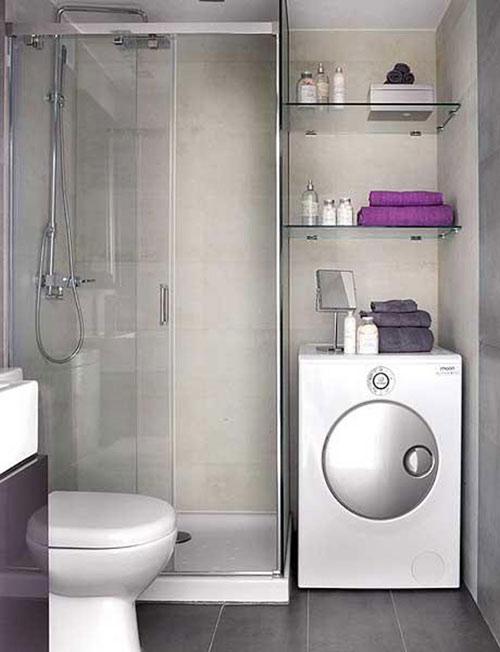 Galeria małych łazienek