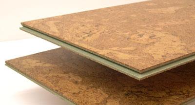 Panel podłogowy z korka