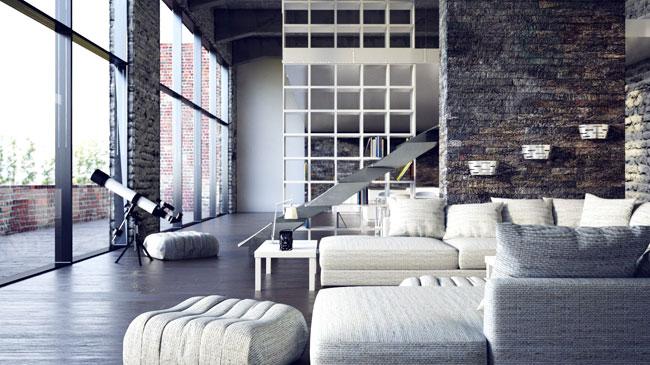 Organizacja przestrzeni loftu