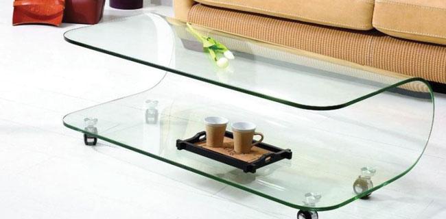 Ława ze szkła