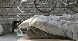 Ekologiczne łóżko z palet