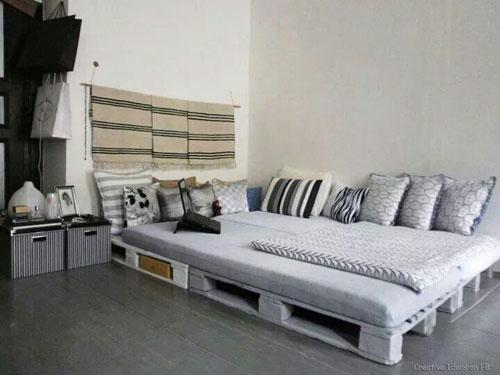 ko z palet ekologicznie i tanio galeria pomys w. Black Bedroom Furniture Sets. Home Design Ideas