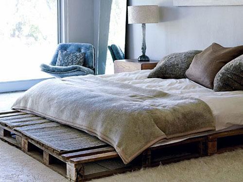 Inspiracje na łóżko z palet