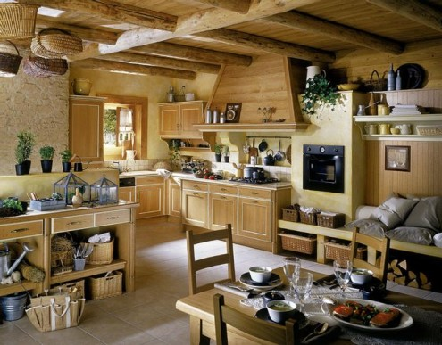 Country Kitchen Style For Modern House Fot Fot