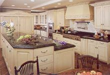 a new refrigerator and freezer Krio kitchen designs. refrigerator and...
