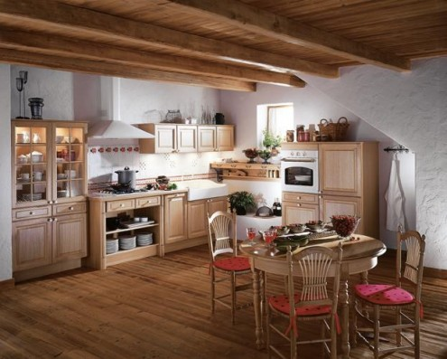 french country kitchens grand - photo #7